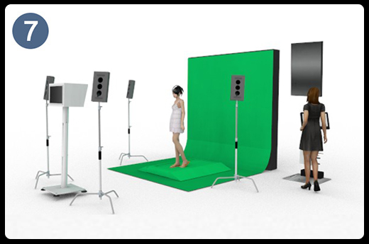 catwalk video booth
